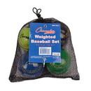 Champion Sports BBWTSET4 Weighted Training Baseballs Set Of 4