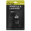 Champion Sports BP401 Metal Whistle With Lanyard