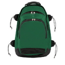 Champion Sports BP802DGN Deluxe All Purpose Backpack, Dark Green