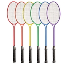 Champion Sports BR31SET Tempered Steel Twin Shaft Badminton Racket Set