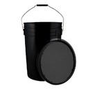 Champion Sports BUC6BK 6 Gallon Ball Bucket Black