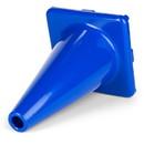 Champion Sports C12BL 12 Inch High Visibility Flexible Vinyl Cone Blue