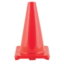 Champion Sports C12OR 12 Inch High Visibility Flexible Vinyl Cone Orange