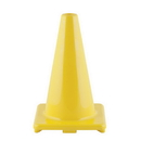 Champion Sports C12YL 12 Inch High Visibility Flexible Vinyl Cone Yellow