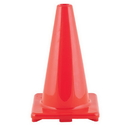 Champion Sports C18OR 18 Inch High Visibilty Flexible Vinyl Cone Orange
