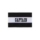 Champion Sports CAPBK Adult Captain Arm Band, Black/White