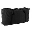 Champion Sports CB4224BK Zippered Canvas Duffle Bag Black