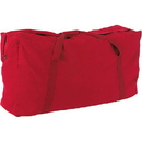 Champion Sports CB4224RD 22 oz. Oversized Canvas Zippered Duffle Bag, Red