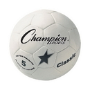 Champion Sports CLASSIC5 Classic Soccer Ball Size 5