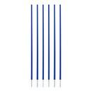 Champion Sports CS6BL Coaching Sticks Set Of 6 Blue