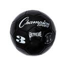 Champion Sports EX3BK Extreme Soccer Ball Size 3 Black