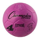 Champion Sports EX4PK Extreme Soccer Ball Size 4 Pink