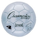 Champion Sports EX4SL Extreme Series Size 4 Soccer Ball, Silver
