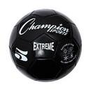 Champion Sports EX5BK Extreme Soccer Ball Size 5 Black