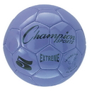 Champion Sports EX5PR Extreme Series Size 5 Soccer Ball, Purple