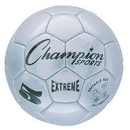 Champion Sports EX5SL Extreme Soccer Ball Size 5 Silver
