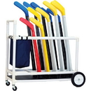 Champion Sports HOCKH Deluxe Abs Floor Hockey Cart