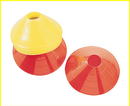 Champion Sports LDCYL Large Saucer Cone Yellow