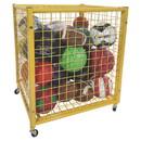 Champion Sports LRCS Half-Size Lockable Ball Locker