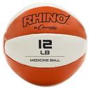 Champion Sports MB11 11-12lb Leather Medicine Ball