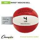 Champion Sports MB4 4-5lb Leather Medicine Ball