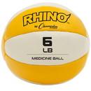 Champion Sports MB6 6-7lb Leather Medicine Ball