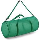 Champion Sports MD45GN Mesh Duffle Bag Green