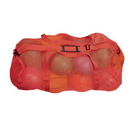 Champion Sports MD45RD Mesh Duffle Bag Red