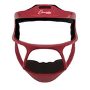 Champion Sports MFMYRD Magnesium Softball Facemask Youth Red