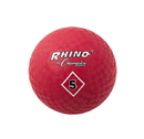 Champion Sports PG5RD 5 Inch Playground Ball Red
