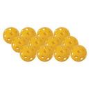 Champion Sports PLSBYL Plastic Softball Yellow