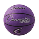 Champion Sports RBB1PR Pro Rubber Basketball, Purple