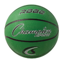 Champion Sports RBB2GN Pro Rubber Basketball, Green
