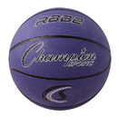 Champion Sports RBB2PR Pro Rubber Basketball, Purple