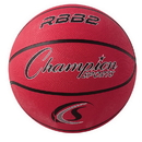 Champion Sports RBB2RD Pro Rubber Basketball, Red