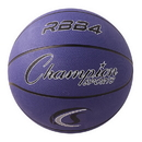 Champion Sports RBB4PR Pro Rubber Basketball, Purple