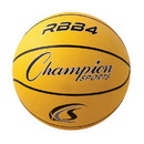 Champion Sports RBB4YL Pro Rubber Basketball, Yellow