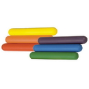 Champion Sports RBFSET Foam Relay Baton Set