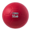 Champion Sports RS75 Rhino Skin Molded Foam Soccer Ball Size 4 Red