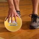 Champion Sports RS7 7 Inch Rhino Skin Allround Medium Bounce Foam Ball Yellow