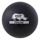 Champion Sports RS85NBK 8.5 Inch Rhino Skin Special Dodgeball Black