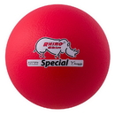 Champion Sports RS85NRD 8.5 Inch Rhino Skin Special Dodgeball Neon Red