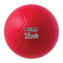 Champion Sports RSHB Rhino Skin Molded Foam Size 3 Mini Soccer Ball Red