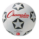 Champion Sports SRB3 Rubber Cover Size 3 Soccer Ball