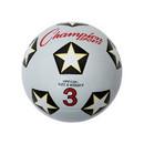 Champion Sports SRB3 Rubber Soccer Ball Size 3