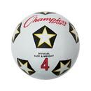 Champion Sports SRB4 Rubber Soccer Ball Size 4