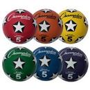 Champion Sports SRB5SET Rubber Cover Soccer Ball Set Size 5