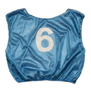 Champion Sports SVYWNBL Numbered Scrimmage Vest Youth Blue