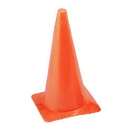Champion Sports TC12 12 Inch High Visibility Plastic Cone Orange
