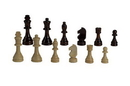 "CHH 2102 3 1/2"" Standard Wooden Chessmen"